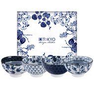 8719323525337 - Tokyo Design Studio - Coffret de 4 bols Flora japonica 16700