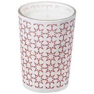 3065872636037 - Devineau - Contenant papier conique motif étoiles sérigraphie rose non parfumé
