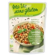 3380380076237 - Ma Vie Sans Gluten - Lentilles soja et duo de céréales, bio sans gluten