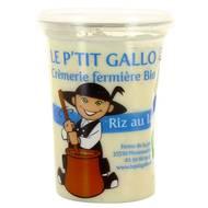 3760130100038 - Le P'tit Gallo - Riz au lait bio