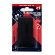 3040695830138 - Style couture - Rallonge pour soutien-gorge noir