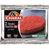 3181232220538 - Charal - Biftecks hachés pur boeuf 15% mat.gr