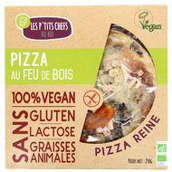 3760209680638 - Les P'tits Chefs du Bio - Pizza bio 100% Vegan Reine