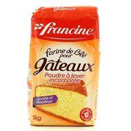Francine - Farine de blé et poudre levante spéciale gâteaux