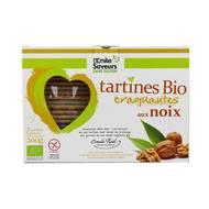 3291960012838 - L'Emile Saveur - Tartines Bio craquantes aux Noix sans Gluten
