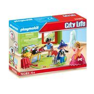 4008789702838 - PLAYMOBIL® City Life - Enfants et malle de déguisements