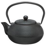 3560239313038 - Secret de Gourmet - Théière en fonte et inox Noir