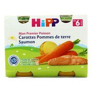 4062300083738 - Hipp - Carottes Pommes de terre Saumon dès 6 mois