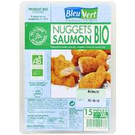 3551610005338 - Bleu Vert - Nuggets de saumon bio x15