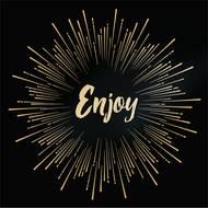 3701168910039 - Mesa Bella - Serviettes en papier Enjoy or, noir 33 x 33 cm