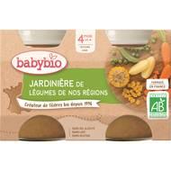 3288131510439 - Babybio - Jardinière de légumes Bio, dès 4 mois
