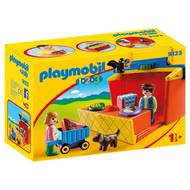 4008789091239 - PLAYMOBIL® 1.2.3 - Étal de marché transportable