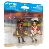 4008789702739 - PLAYMOBIL® Pirates - Capitaine pirate et soldat