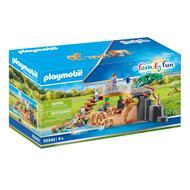 4008789703439 - PLAYMOBIL® Family Fun - Famille de lions avec végétation