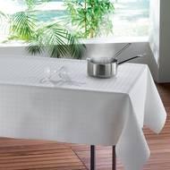 3574387104639 - Douceur D Interieur - Protège table rectangulaire blanc