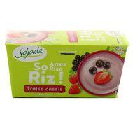 3273220178539 - Sojade - Délice de riz Fraise Cassis