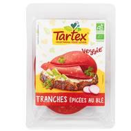 3396410220440 - Tartex - Tranches veggie façon salami bio