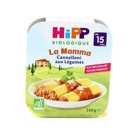 4062300250840 - Hipp - Assiette Cannelloni aux Légumes bio dès 15 mois