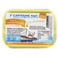 3522920012040 - Capitaine Nat - Filets de maquereaux à la moutarde