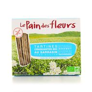 3380380046940 - Le pain des fleurs - Tartines sarrasin, sans sel ni sucre ajouté, sans gluten, Bio