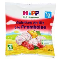 4062300266940 - Hipp - Galettes de Riz à la Framboise bio dès 10 mois