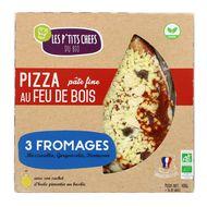 3760209680041 - Les P'tits Chefs du Bio - Pizza bio 3 fromages