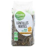 3322693000141 - Monbio - Lentilles vertes bio Origine France