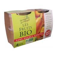 3330724310541 - Destination Lucien Georgelin - Purée pomme poire bio sans sucre ajouté
