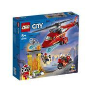 5702016911541 - LEGO® City - 60281- L'hélicoptère de secours des pompiers