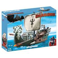 4008789092441 - PLAYMOBIL® Dragons - Drago et vaisseau d'attaque