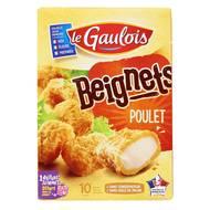 3266980034641 - Le Gaulois - 10 Beignets de poulet panés
