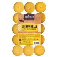 3065873429041 - Devineau - Bougies chauffe-plats Citronnelle, Anti-moustiques
