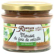 3507170120042 - Rostain - Mousse de foie de Volaille Bio