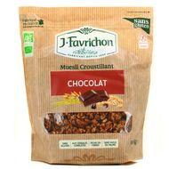 3111900350342 - Favrichon - Muesli croustillant Chocolat bio sans gluten