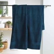3574388010342 - Douceur D Interieur - Drap de bain Eponge Bleu Nuit