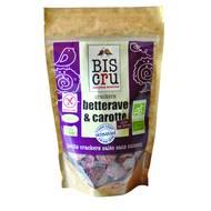 3770001404042 - Biscru - Crackers bio Betterave & carotte sans cuisson Raw