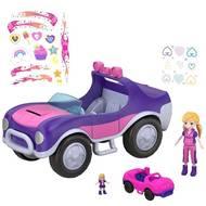 0887961686142 - Mattel - La voiture secrète- Polly Pocket
