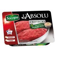 Socopa - L'Absolu Bifteck + 60g de sauce poivre