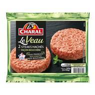 3181238958442 - Charal - Steak haché de Veau façon bouchère