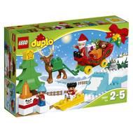 5702015869942 - LEGO® DUPLO® - 10837- Les vacances d'hiver du Père Noël