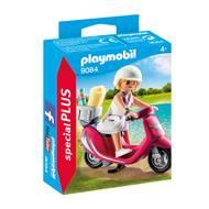 4008789090843 - PLAYMOBIL® Spécial Plus - Vacancière avec scooter