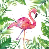 4021766234443 - Paperproducts Design - Serviette en Papier Tropical Flamingo