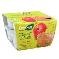 3396411217043 - Evernat - Dessert de pomme bio sans sucres ajoutés