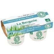 3513610140044 - LA Bergerie - Yaourt bio de brebis nature