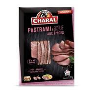 3181238960544 - Charal - Pastrami de boeuf aux épices en tranches