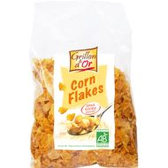 3421557111044 - Grillon Or - Corn flakes nature sans sucre, bio