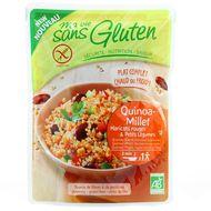 3380380076244 - Ma Vie Sans Gluten - Quinoa Millet haricots rouges et petits légumes, sans gluten