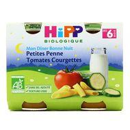 4062300088344 - Hipp - Bonne Nuit Petites Penne Tomates Courgettes bio, dès 6 mois