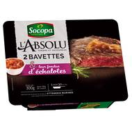 3039050049544 - Socopa - L'Absolu Bavettes de boeuf + 60gr sauce échalote