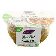 3760099539245 - Végétal Gourmand - Couscous de boulgour et sarrasin aux légumes bio
